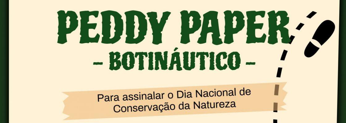 """Peddy Paper """"Botináutico"""" (2.ª edição)"""